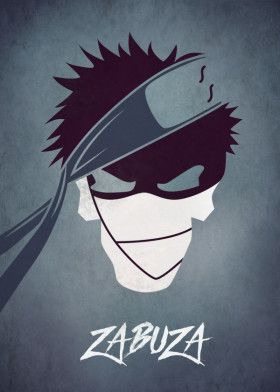 Zabuza Skull Naruto Shippuden Anime Naruto Shippuden Characters Naruto Art