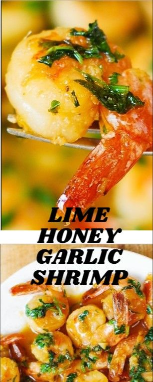 Lime Honey Garlic Shrimp Resep Masakan Resep Makanan Memasak
