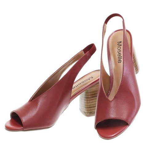 2bd1b3da1 Sandália Chanel Vermelho 2121 Moselle por Gatza | Moselle sapatos finos  online! Moselle é feminina.