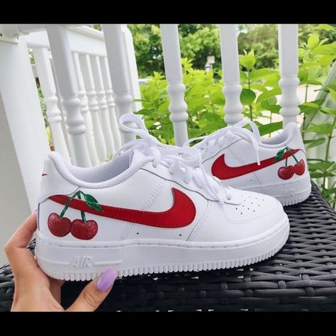Custom Nike Air Force 1 Depop