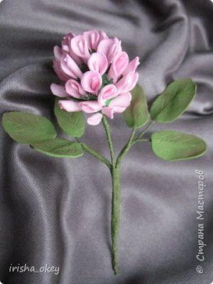Tutorial Lengkap Cara Membuat Bunga Semanggi Dari Flanel Bunga Kain Tenun Templat Bunga Pola Bunga