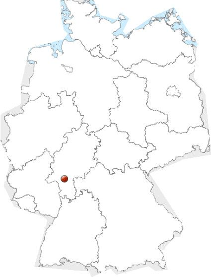 Frankfurt Karte Deutschland Leer Karte Deutschland