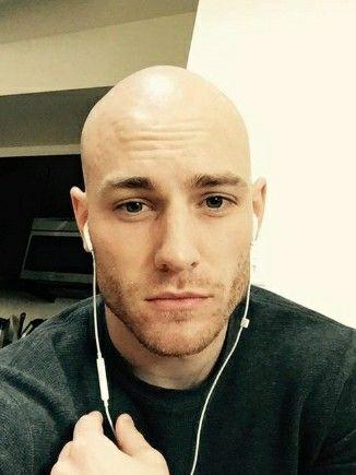 Sexy bald men pics