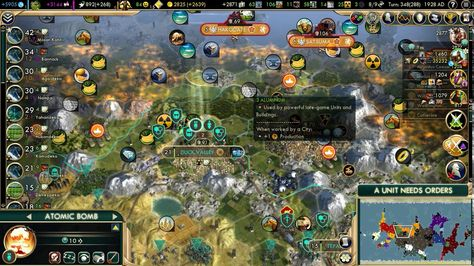 Nuking half an empire off the map in one turn (Civ 5 ...