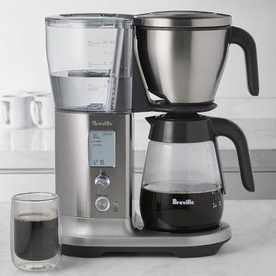 Breville Precision Brewer Drip Coffee Maker With Glass Carafe Coffee Brewer Drip Coffee Maker Iced Coffee Maker