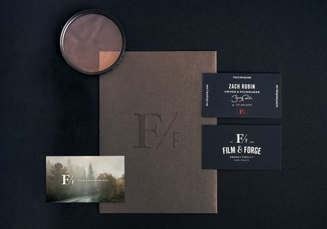 Film & Forge Branding by Elu Creative | Inspiration Grid