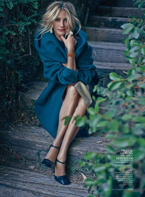 Julia Roberts – InStyle (USA) September 2014