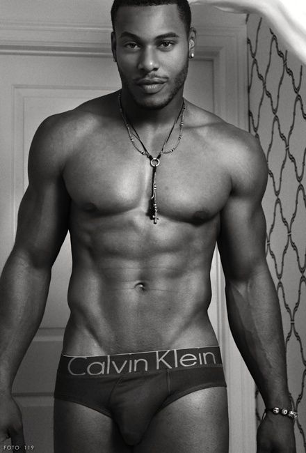 Black guys in sexy underwear