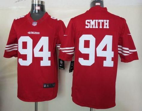 cf0e136e9e0 ... 78.00--Justin Smith White Elite Jersey - Nike Stitched San Francisco  49ers 94 Jersey ...