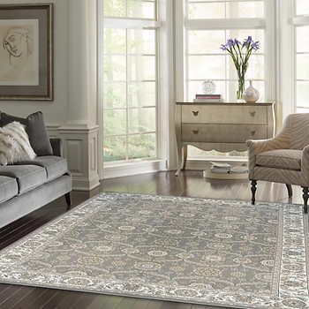 Thomasville Timeless Classic Rug Collection Adona Gray Classic