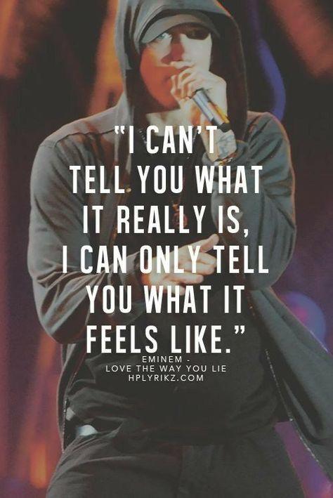 Song Lyric Saturday with Eminem January 27, 2018