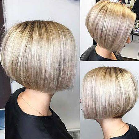 New Bob Coupes De Cheveux Et Styles 2017 Style De Coiffure Bob Frisur Bob Frisuren Blond Frisuren