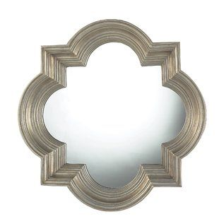 Willa Arlo Interiors Cairo Platinum Gold Decorative Wall Mirror