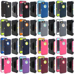 wholesale dealer 794ad aecb1 Fits iPhone 6 Plus & iPhone 6S Plus Case Cover w/(Clip fit Otterbox ...
