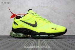 Men's running shoes Nike Air Max Tn lime green black