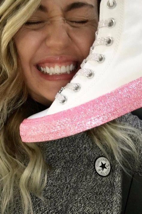 Miley Cyrus's Converse Sneakers Are Even Cooler Than We
