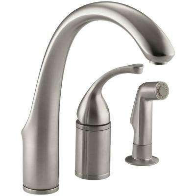 Single Handle Basic Kitchen Faucets Kitchen Faucets The Home Depot Kitchen Faucet Kitchen Sink Faucets Kitchen Faucet Reviews