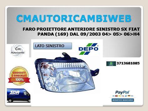 TAPPO COPRIGANCIO PARAURTI POSTERIORE FIAT IDEA DAL 2003