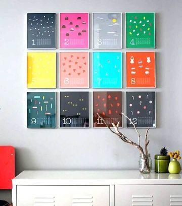 47 Easy Diy Home Decorating Ideas 7 Simple Home Decoration Diy Decor Creative Calendar