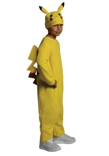 Pikachu Costume Kids Pokemon Halloween Fancy Dress