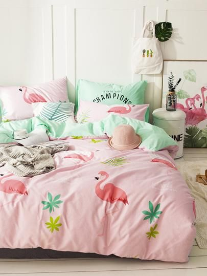 Bettwasche Fur Teenager Bedding Beddingset Bettwasche Flamingo