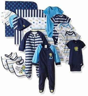 Gerber Baby Boys Outfit Set Blue Size 0 3 Months Mix Print 19 Set 52 863 Ebay In 2020 Cool Baby Clothes Baby Clothes Sale Baby Boy Outfits