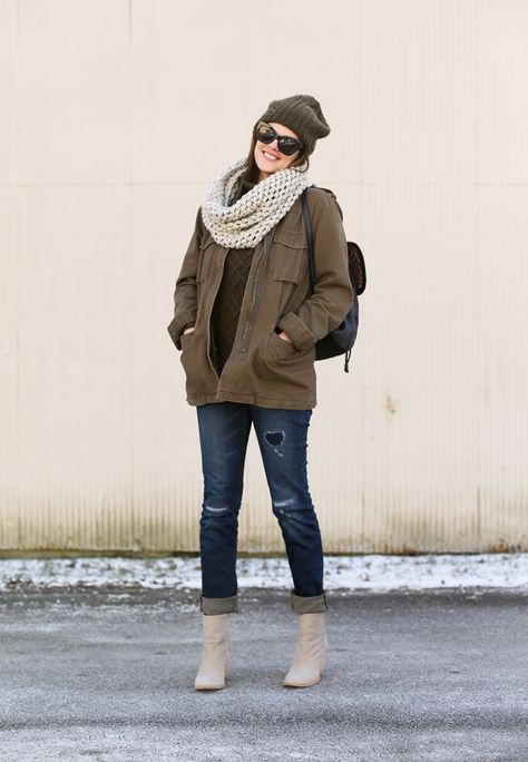 What I Wore   Olive