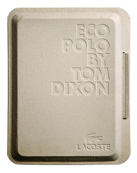 eco/techno polo: In collaboration with Tom Dixon we worked on the packaging and launch graphics for two special edition polo shirts commissioned by Lacoste. (by mind design) Tom Dixon, Id Design, Label Design, Package Design, Design Ideas, Print Packaging, Food Packaging, Medical Packaging, Design Packaging