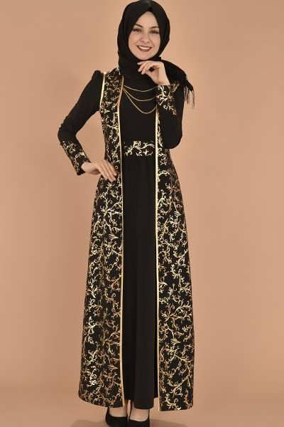 30 Model Gamis Simple Elegan Dan Mewah Terbaru 2019 Model Baju Muslim Kebaya Modern Pakaian Wanita Model Baju Wanita Model Pakaian Hijab