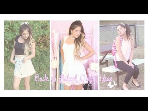 d706c8e7777 Back to School Outfit Ideas Girly & Trendy | Chloe Griffin Youtube ...