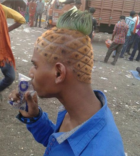 15 of the Most Elaborately Strange Haircuts - Read My Giant Hairy Lips | Guff