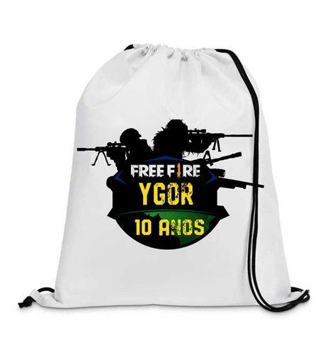 bda764e9c 15 Mochila Free Fire e Fortnite | Wonderful product | Drawstring backpack,  Backpacks, Bags