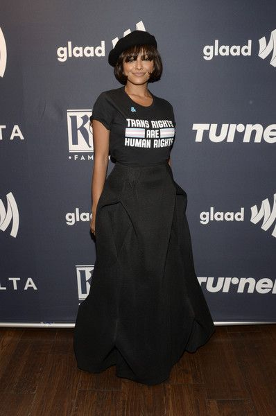 Kat Graham attends the Annual GLAAD Media Awards Atlanta, in partnership with longstanding LGBTQ ally, Ketel One Family-Made Vodka.