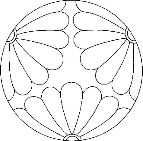 Mandala coloring pages--for kids to fill with zentangle