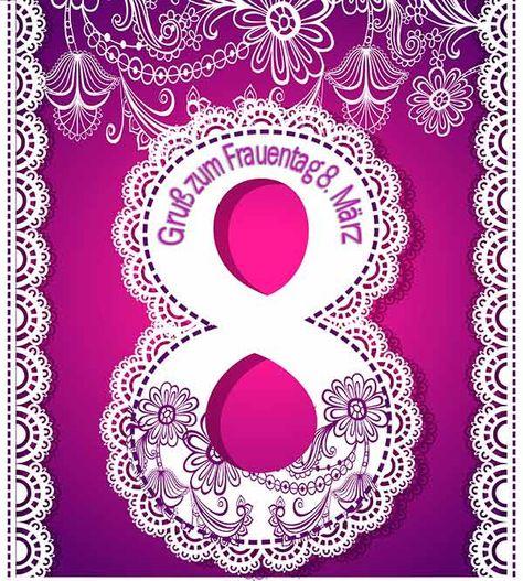 Grusskarten Kostenlos Zum Weltfrauentag Free Ecards Grusskarten