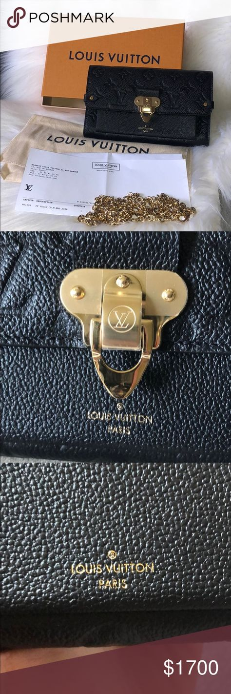0bd8cd6b2ef7 List of Pinterest lois vuitton wallet on chain leather images   lois ...