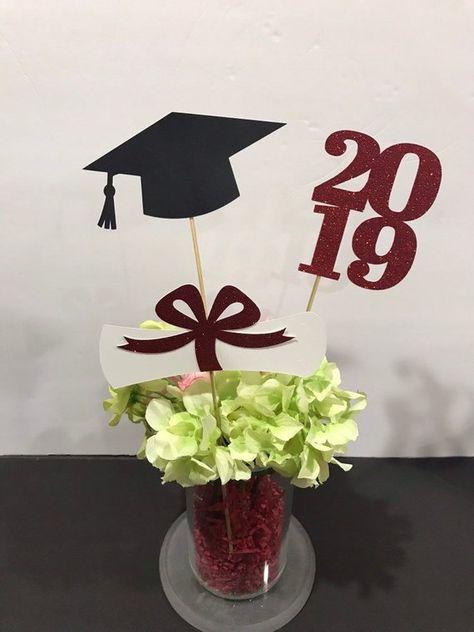 Graduation Centerpieces 2020.Graduation Party Decorations 2020 Graduation Centerpiece