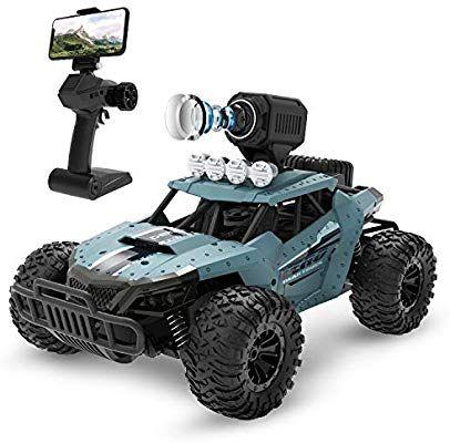 Amazon Com Deerc Rc Cars De36w Remote Control Car With 720p Hd Fpv Camera 1 16 Scale Off Road Remote Co Remote Control Cars Rc Cars And Trucks Monster Trucks