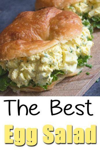 Egg Salad Recipe Cream Cheese