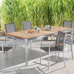 Garten Niehoff Naja Gartentisch 20095 Cm Edelstahl 4 Fuss Gerade Teak Old Finish Niehoff In 2020 Garden Table Teak Diy Outdoor Furniture