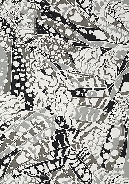 Puccini Black At9857 Collection Nara From Anna French Abstract Wallpaper Design Wallpaper Designer Wallpaper