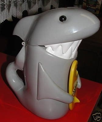 Shark cookie jar