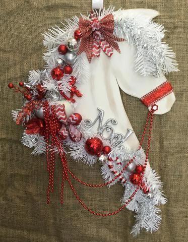 28+ Horse head christmas wreath ideas in 2021