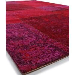 Benuta Flat Woven Carpet Frencie Red 120 180 Cm Vintage Carpet