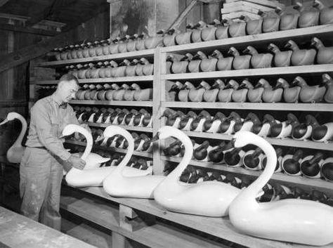 Havre de Grace decoy shop 1947