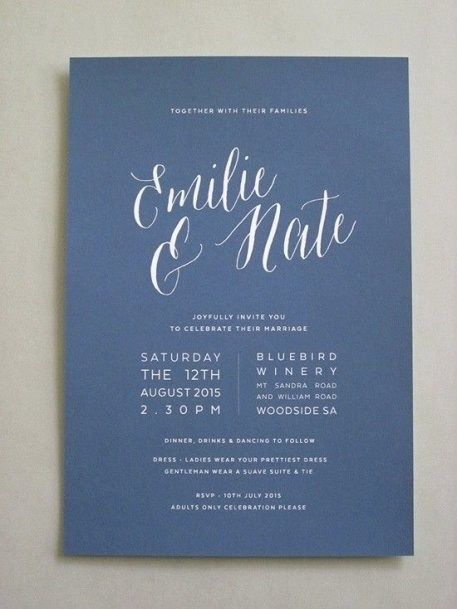 Best 25 Navy Wedding Invitations Ideas On Pinterest