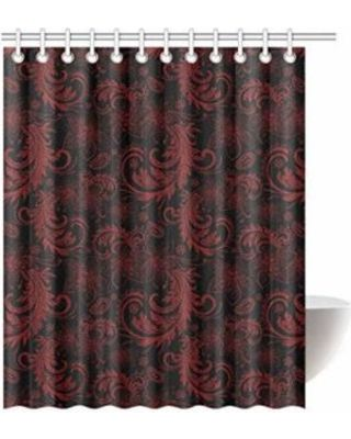 Elegant Fabric Shower Curtains With Valance In 2020 Curtains