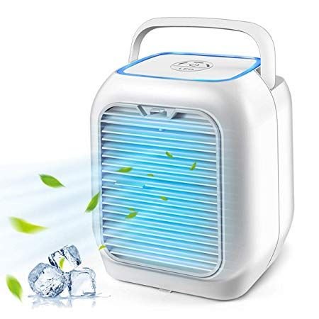 Personal Air Cooler Air Personal Space Conditioner Fan 9 5 Inch Small Desktop Fan Best Humidifier Room Air Cooler Air Cooler