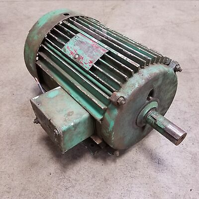 Advertisement Ebay Lincoln 10hp 1745rpm 215t Ac Motor Used In 2020 Motor Electric Motor Ebay