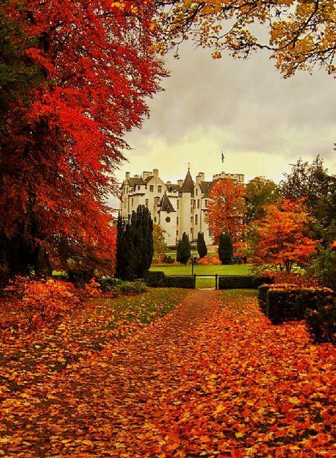 Blair Castle in Scotland. by gordonwestran